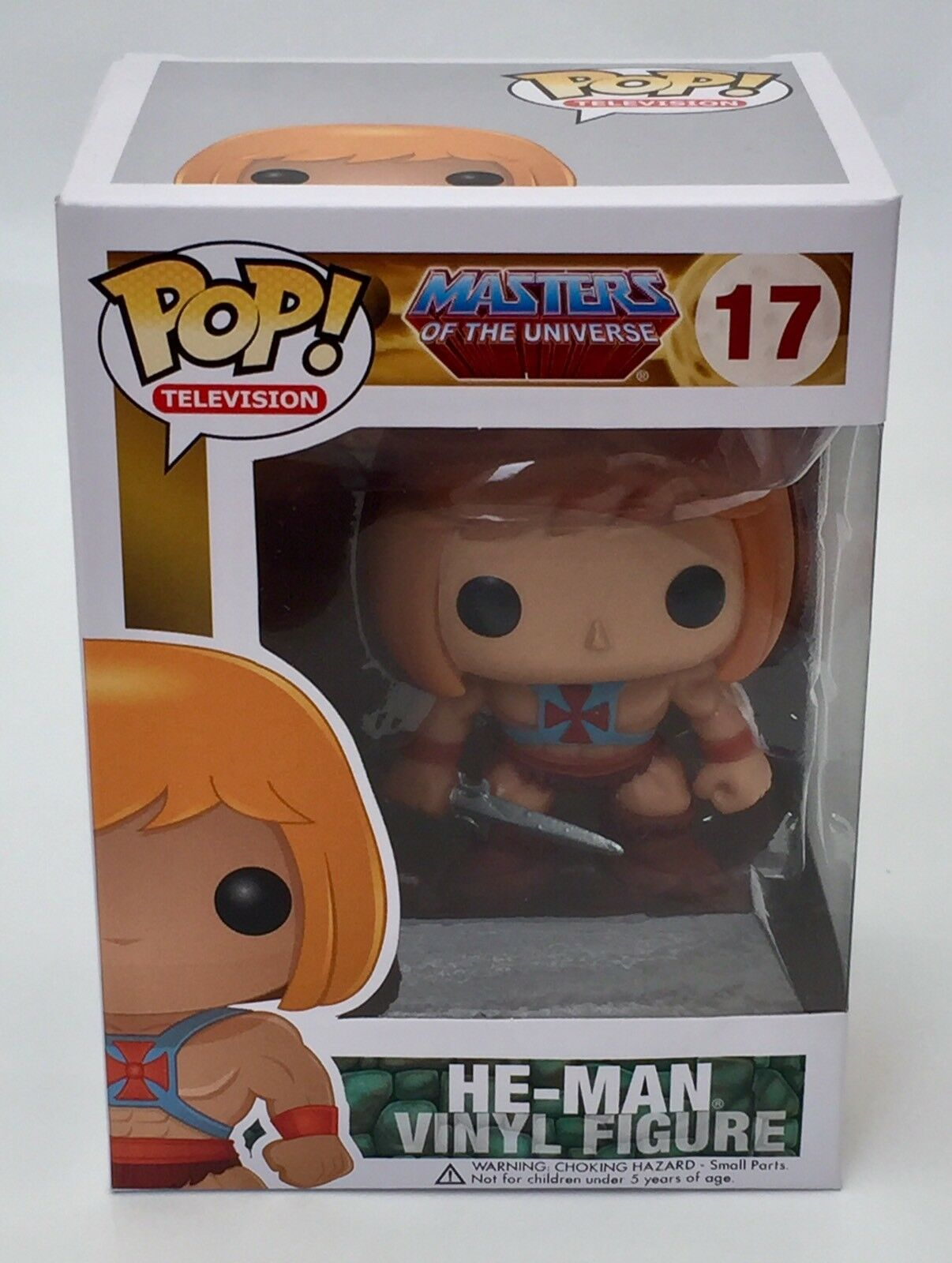 He -Man Masters of the Universe Funko Pop Vinyl Sällsynta Vaulter