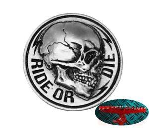 RIDE-OR-DIE-BIKER-Pin-Anstecker-Anstecknadel-Chopper-Motorrad-USA-Harley-Forever
