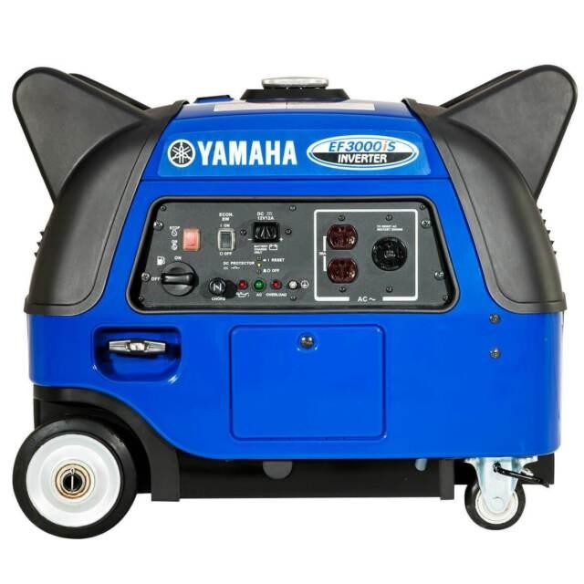 Yamaha EF3000iS 3000-Watt 120-Volt 25-Amp Portable inverter Generator
