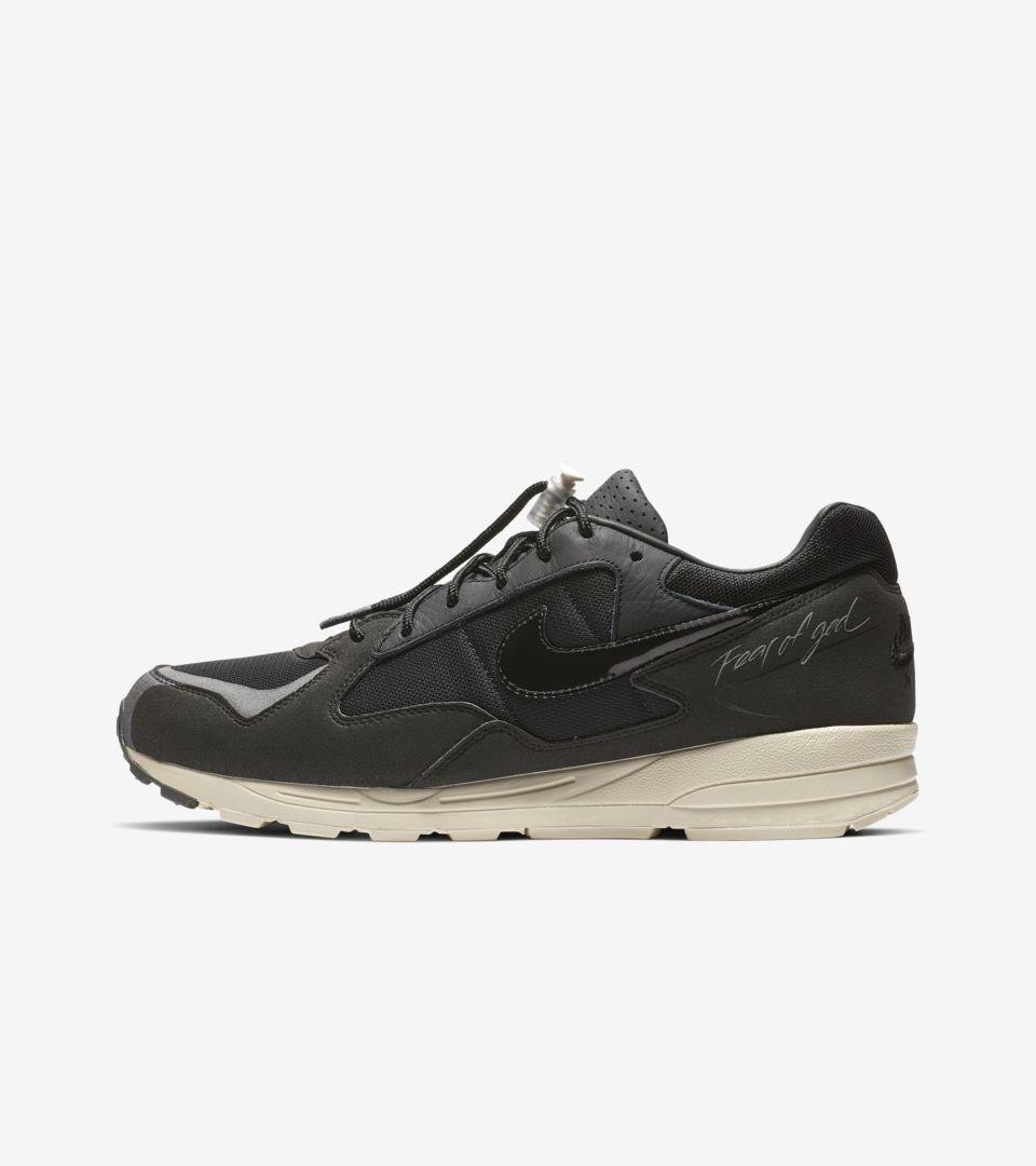 Nike Air X la crainte crainte crainte de dieu Skylon 2 II Noir Voile Brouillard US 10 a66568