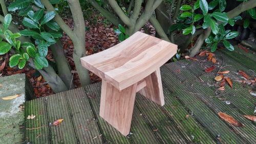 Top Quality TEAK WOOD natural stool for bathroom shower qubicle  47x47x31cm