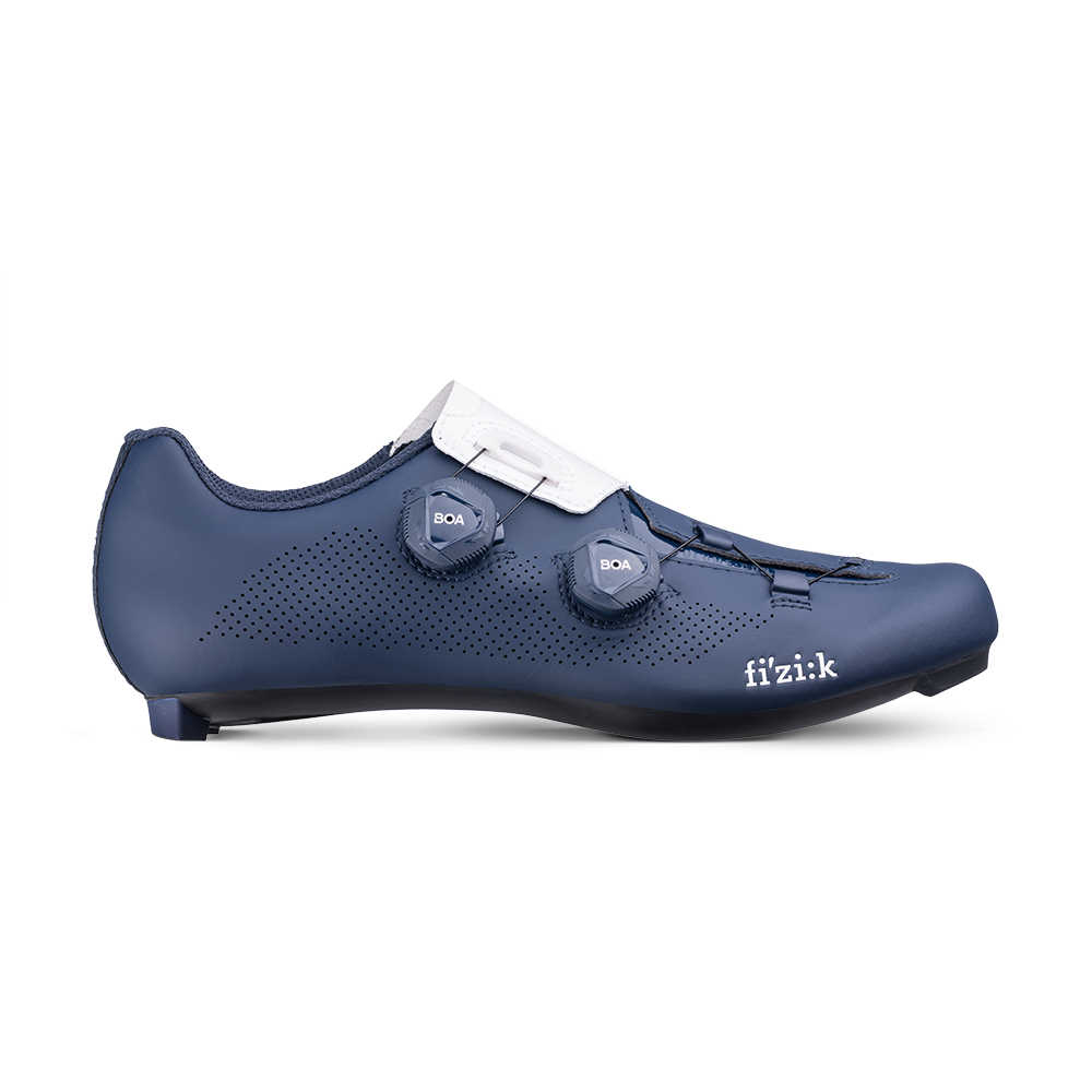 New Fizik ARIA R3 Cycling Schuhes, Navy Weiß, EU39-44