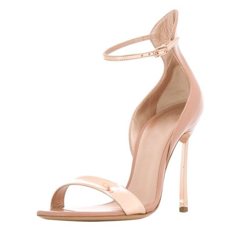 Nouveau Femmes Bout Ouvert Sandales Mariage Talons Hauts stilettps Escarpins été Chaussures Y990