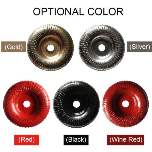 Woodworking Grinding Wheel Tungsten Carbide Sanding Disc Wood Carving Tool New