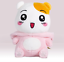 """miniature 2 - Ebichu Plush Official Licensed Pink Rabbit Soft Stuffed Doll Toy 10"""""""