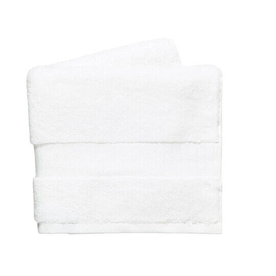 DKNY Lincoln Hand Towels White Size 50cm x 90cm VR273 020