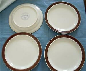 JEPCOR-China-CHOCOLATE-MOUSSE-7-034-Bread-Plate-Set-of-Four