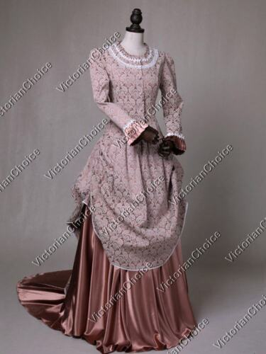 1840-1850s Dickens Victorian Costuming for Women    Victorian Edwardian Game of Thrones Bustle Dress Theater Halloween Costume 131 $225.00 AT vintagedancer.com