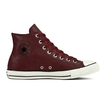 Converse Men's Chuck Taylor All Star POST GAME HI Leather Shoe Burgundy 161494C