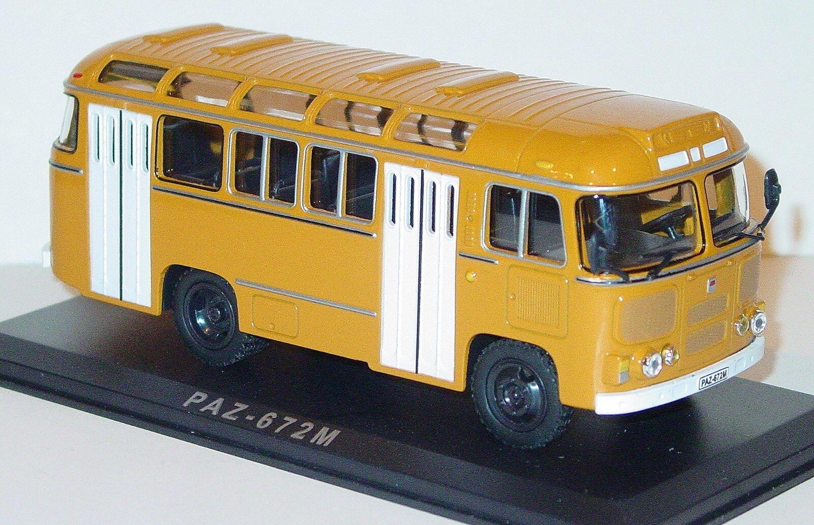 Classicbus druckguss 1   43 russisch - sowjetischer bus paz 672 m cccp udssr urss nib
