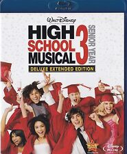 High School Musical 3: Senior Year (Blu-ray Disc, 2009) Zac Efron, Kenny Ortega