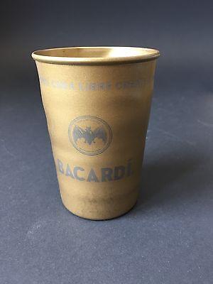 Bacardi Becher aus Blech