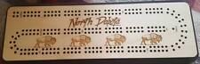 North Dakota Travel Cribbage Board