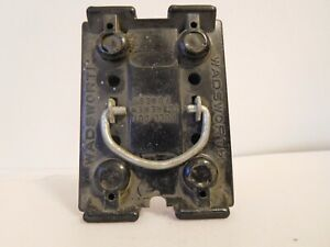 VINTAGE WADSWORTH 30 Amp Fuse Holder Pull Out - (See Desc) | eBayeBay