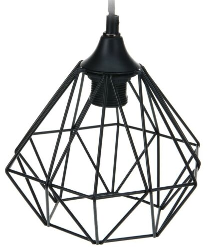 Hive black wire design ceiling hanging pendant lamp light bulb hive black wire design ceiling hanging pendant lamp light bulb shade setting diamond aloadofball Image collections