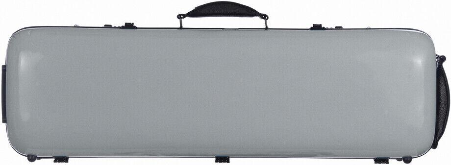 FR Étui en fibre de verre Fiberglass pour violon Safe Oblång 4 4 M-case Silberé