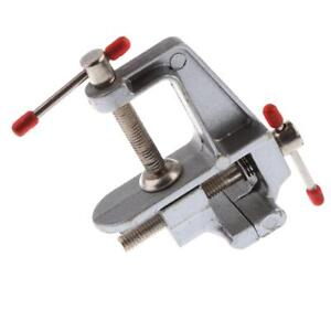 Miniature Plastic Vise Small Jewelers Hobby Clamp On Table Bench Tool Vice