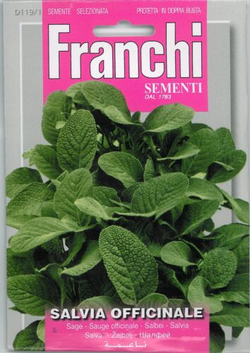Franchi Seeds Herbs Sage Salvia officinale seed