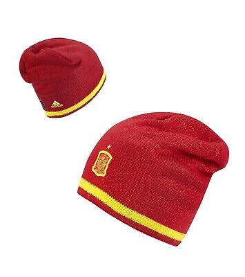 fatiga Gracias por tu ayuda Absorbente  adidas climawarm 15/16 SPAIN España Red Yellow Football Soccer Beanie Toque  Hat | eBay