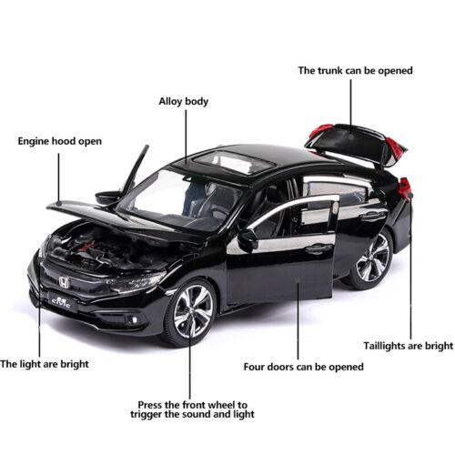 1:32 Honda Civic Metall Die Cast Modellauto Auto Spielzeug Model Sammlung Kinder
