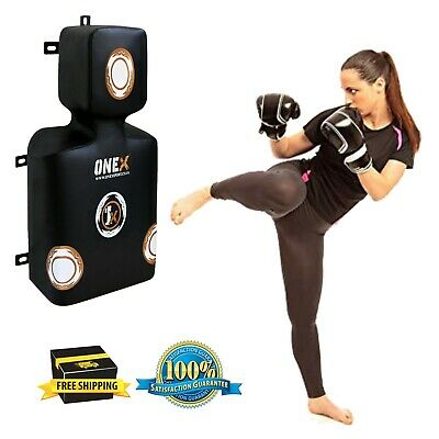 Leather UFC Punch Bag Boxing Wall Dummy Uppercut Wall Pad Martial Art Boxing Bag