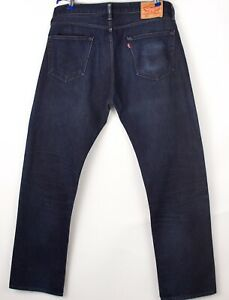 Levi's Strauss & Co Hommes 504 Extensible Jambe Droite Jean Taille W36 L34