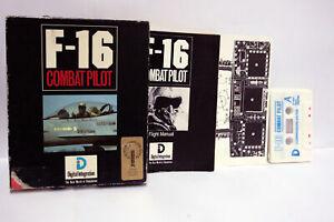 F-16-COMBAT-PILOT-DIGITAL-INTEGRATION-COMMODORE-64-DATASSETTE-C64-CBM-FR1-65536