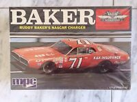 1/25 Buddy Baker Nascar Charger By Mpc In Original Shrink Wrap