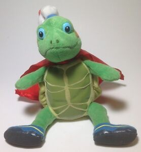 """Ty Beanie Baby Tuck Wonder Pet With Hat And Cape No Heart Tag 6"""" 2009"""
