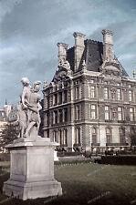 Farb-Dia-Paris-Jardin Tuileries-Île-de-France-agfacolor-R.Bothner-1940-land