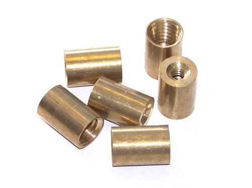 Pool Snooker Billiard Cue Stick Tip Brass Ferrules Suit Screw in type tips 9mm
