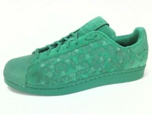 Size 12 - adidas Superstar Xeno Reflective Green