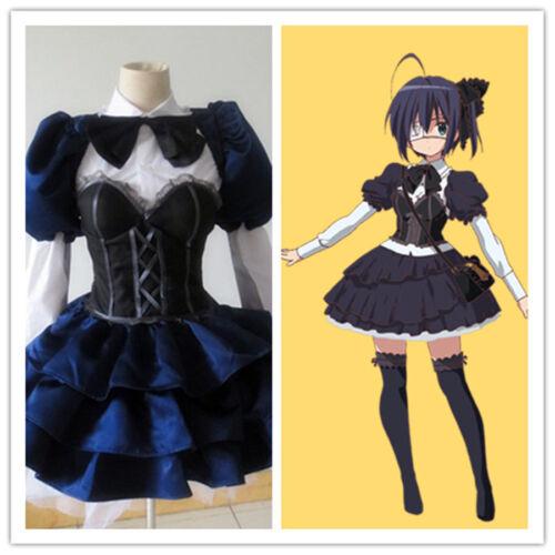 Chuunibyou Demo Koi Ga Shitai Takanashi Rikka Dress Cosplay Costume /&
