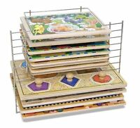 Melissa And Doug Deluxe Wire Puzzle Rack , New, Free Shipping