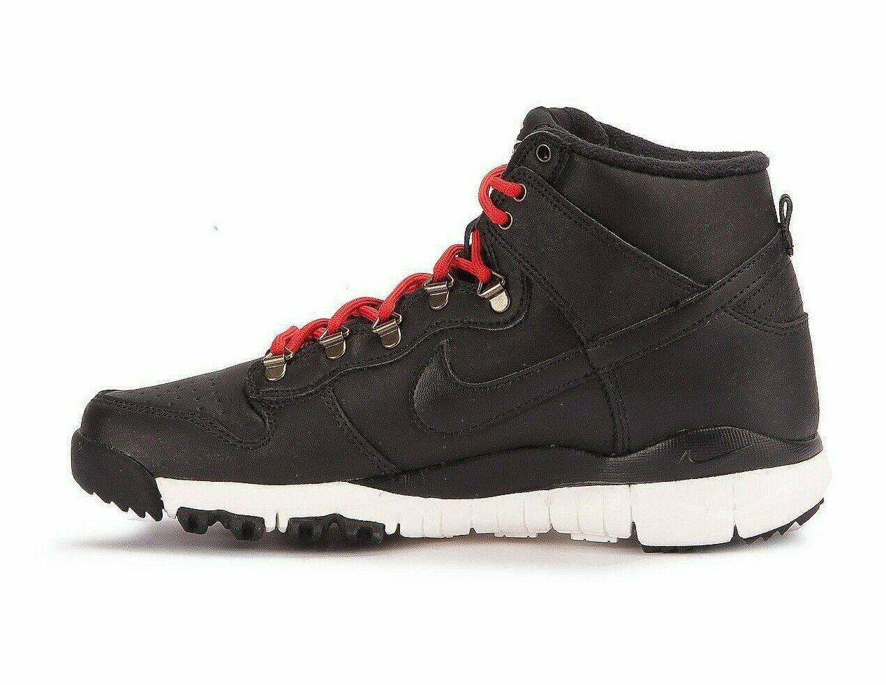 newest 40fb7 48ce1 Nike SB DUNK HIGH BOOT Black Sail Ale Brown 806335-012 (629) Men's Shoes