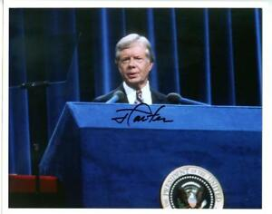 1970s-President-Jimmy-Carter-Autographed-Signed-8x10-Photo-JSA-COA-POTUS