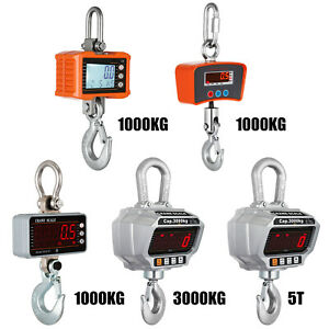 1T/3T/5T Digital Crane Scales Hanging Scale Electronic Scales Accurate Sensitive