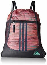 9eb0ddf861bd Adidas Drawstring Alliance Backpack Sports GYM Bag Durable Unisex Sack Pack  NEW