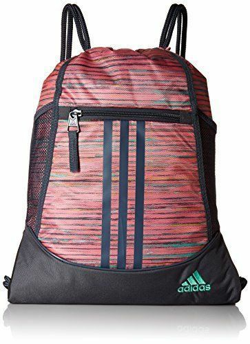 Buy adidas Drawstring Alliance Backpack Sports Gym Bag Durable Unisex Sack  Pack online  36b516438a