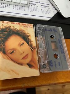 Janet-Jackson-That-s-The-Way-Love-Goes-Cassette-Tape-Cassingle