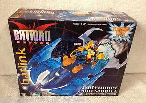 1999 BATMAN BEYOND Netrunner Batmobile Batlink with Launching Deluxe Missile