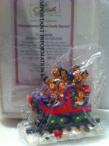 SIMPSONS HAMILTON SCULPTURE NAHASAPEEMAPETALON FAMILY DAY CARE TRAIN FIGURE NEW