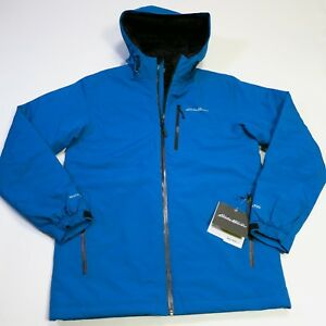 229-Men-039-s-Eddie-Bauer-Microlight-Storm-Jacket-Size-Small-Blue-NWT