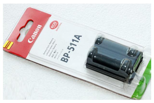 BP-511A Bateria Original Canon BP511A G1 G2 G3 G5 G6 EOS 50D 40D 30D 20D 5D