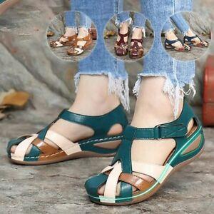 Fashion Women Sandals Waterproo Sli On Round Female  Slippers Casual