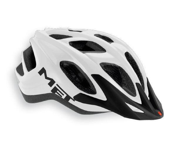 Casco Bici MET Mod.FUNANDGO Bianco Opaco HELMET MET FUNANDGO WHITE MATT