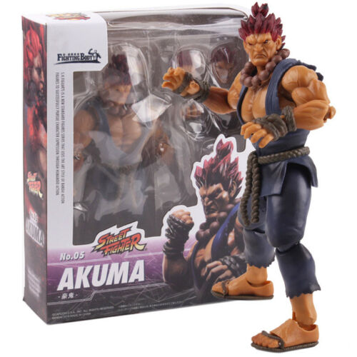 SHF S.H.Figuarts Street Fighter Figure Gouki Akuma No.05 PVC Akuma Figure Toys