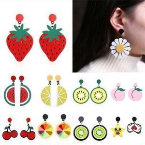 mode-des-bijoux-les-fruits-des-boucles-d-039-oreilles-agiter-cherry-oreille-etalon