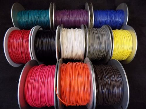 12 GAUGE GPT WIRE AUTOMOTIVE 100/% COPPER OFC AWG CABLE POWER GROUND 11 COLOR LOT