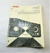 Karl Storz Automatic Xenon Flash Generator Amp Light Source Manual 610